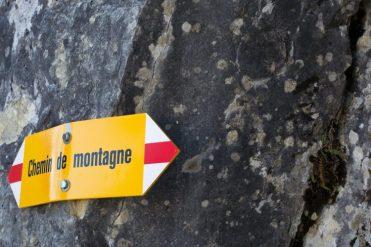 Rochers De Naye / Sign 1